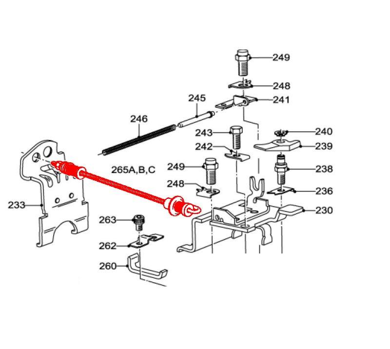 lucas cav dps control spring link