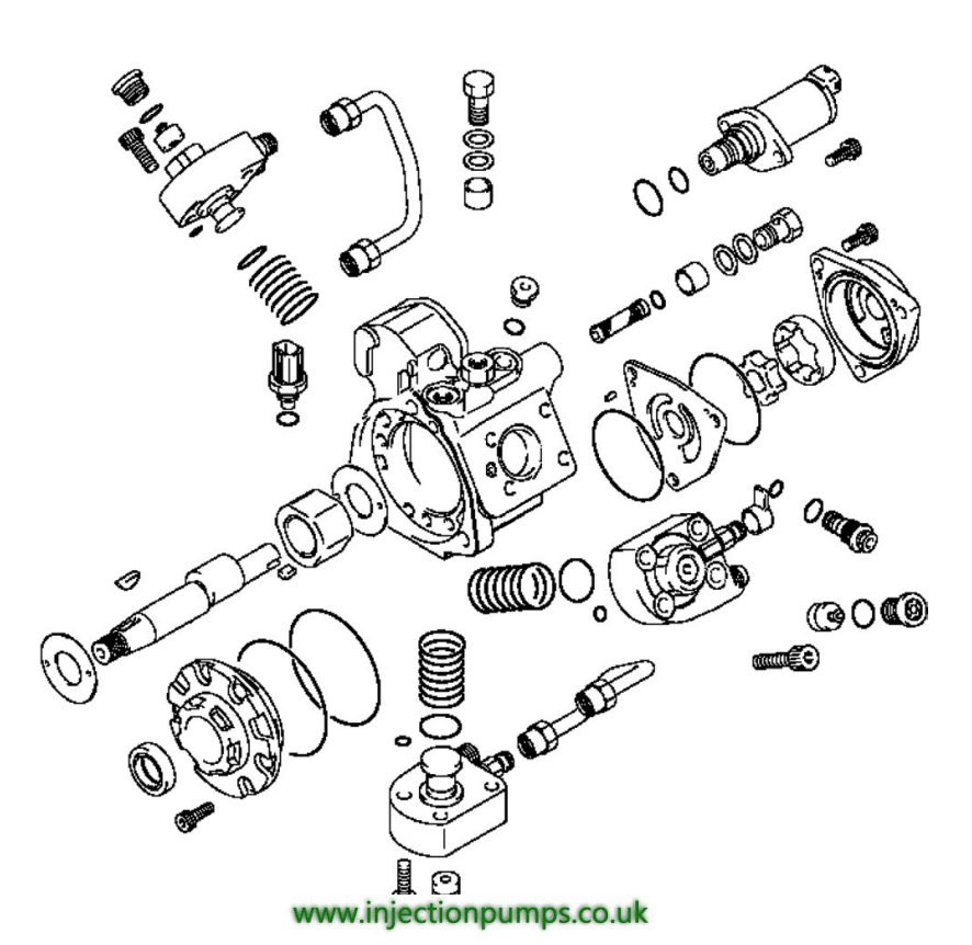 delphi injection pump parts  u2022 wiring and engine diagram