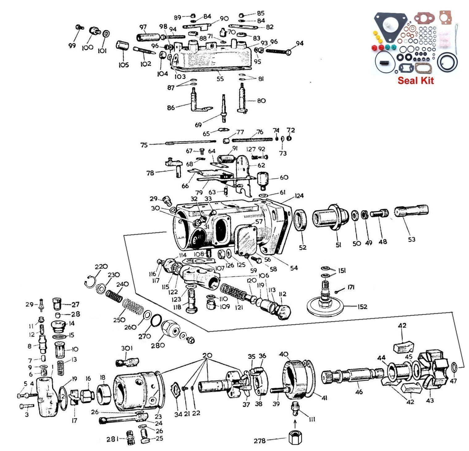 Lucas Cav Injection Pump Parts Diagram