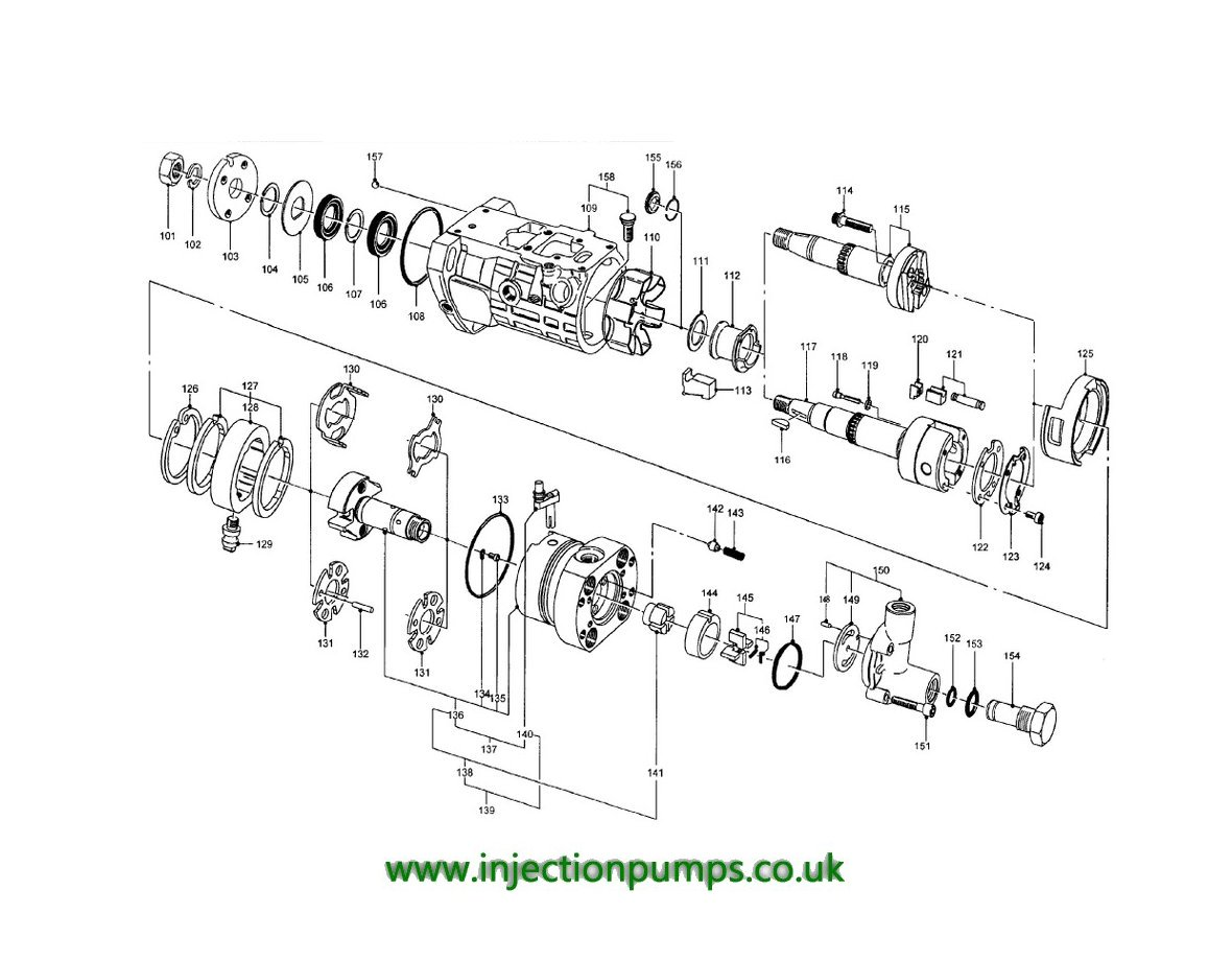 Fuel Injector Pump Diagram - Wiring Diagram Library