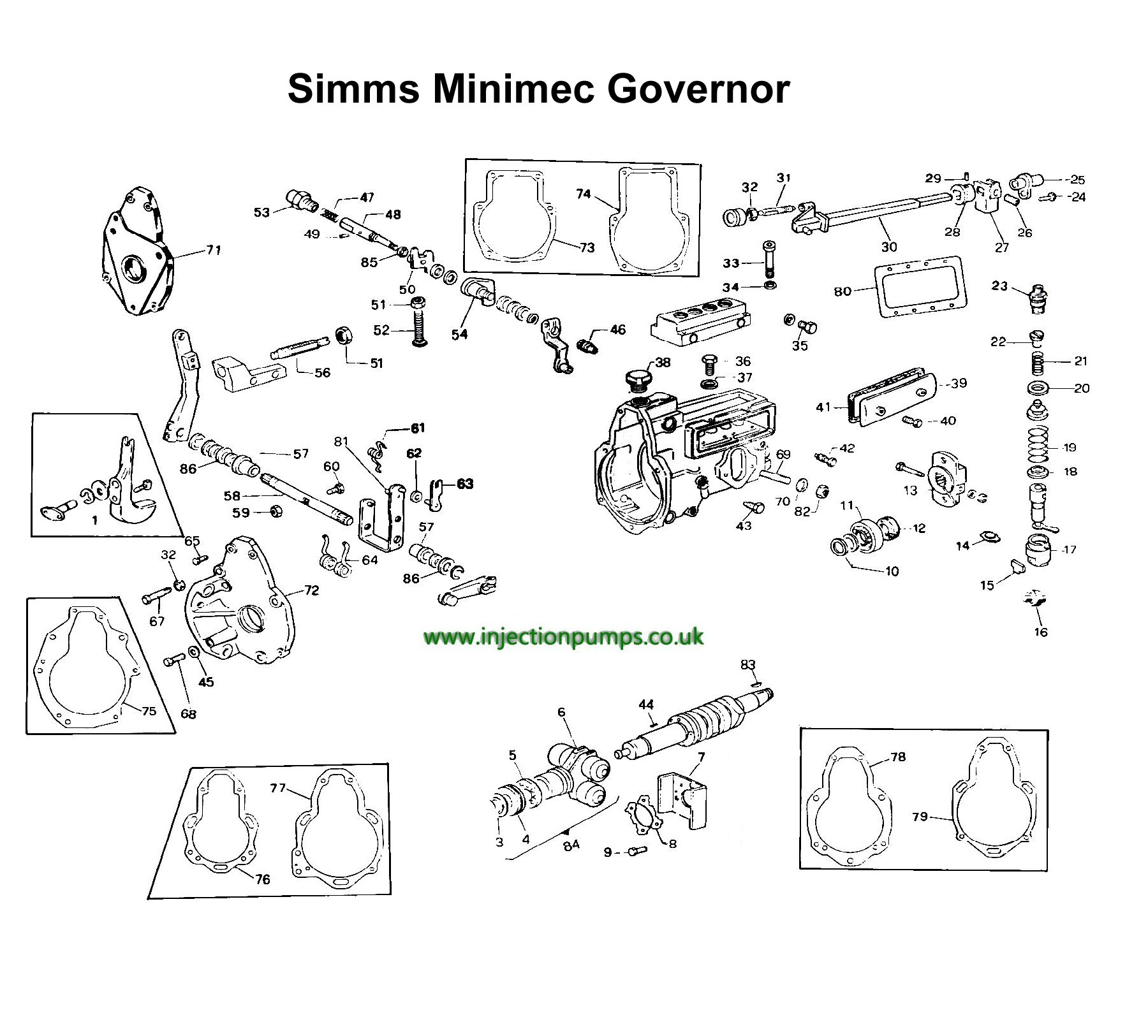 Cav Simms Minimec Governor Exploded Diagram on David Brown Parts Diagram