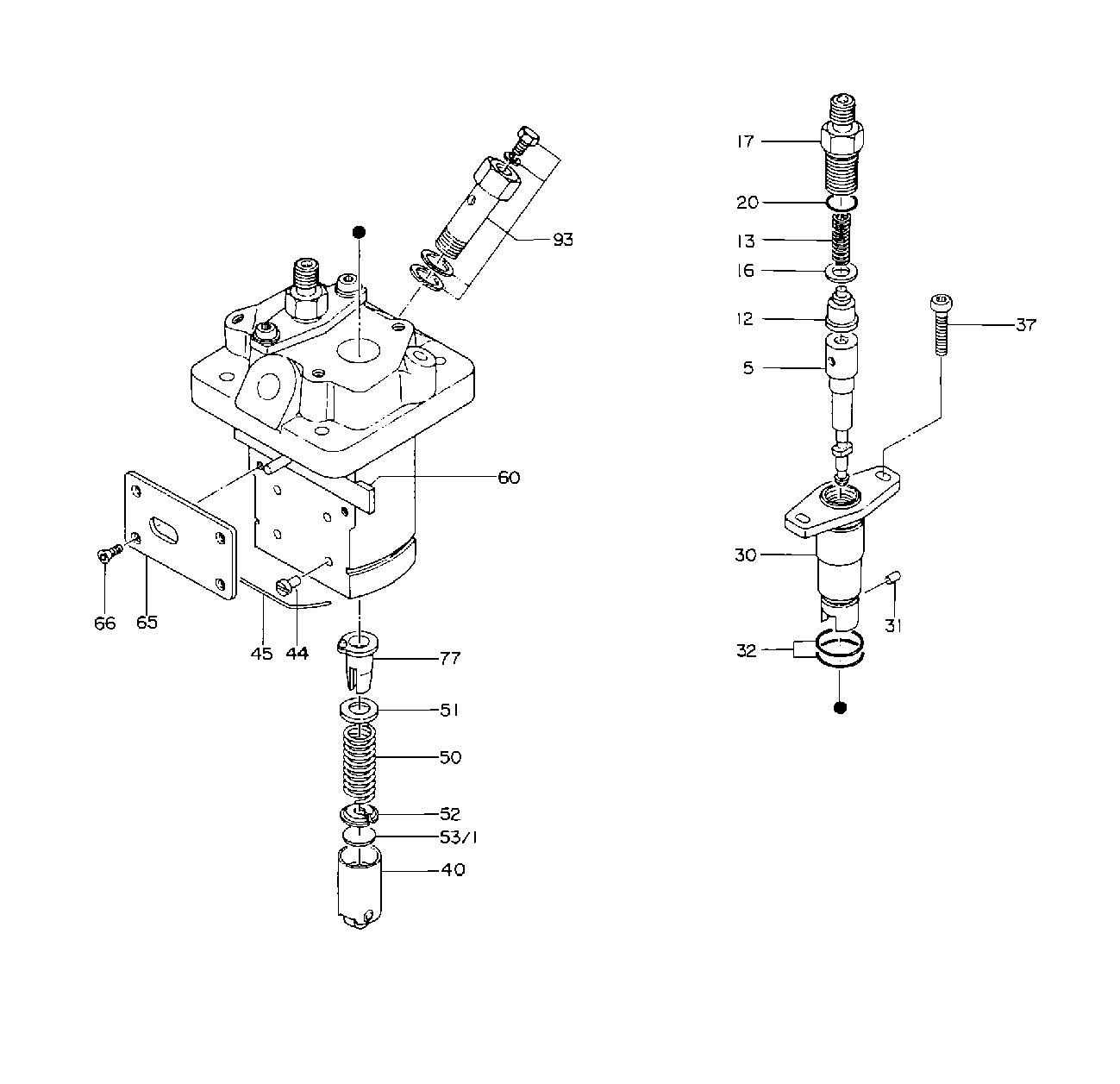 Diesel Kiki Injection Pump Diagram - Wiring Diagrams
